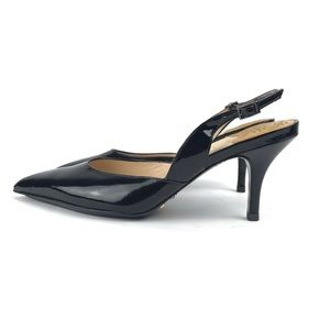 Cole Haan Nike Air Patent Leather Slingback Heel